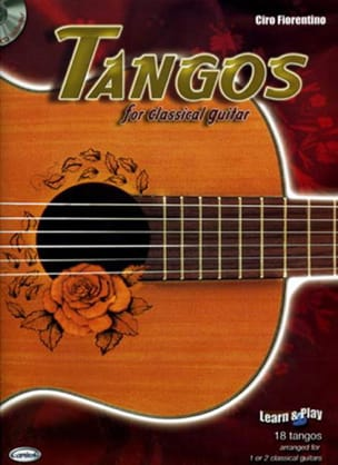 - Tangos for Classical Guitar - Partition - di-arezzo.fr