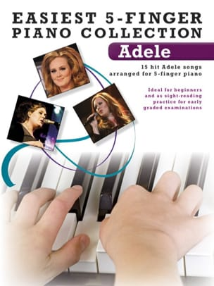 Easiest 5-Finger Piano Collection Adele Partition laflutedepan