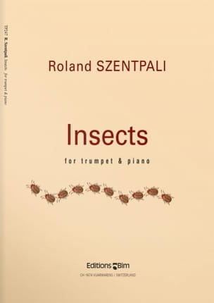 Roland Szentpali - Insects - Partition - di-arezzo.fr