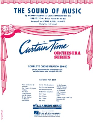 Rodgers & Hammerstein - The Sound of Music - Selections for Full Orchestra - Sheet Music - di-arezzo.com
