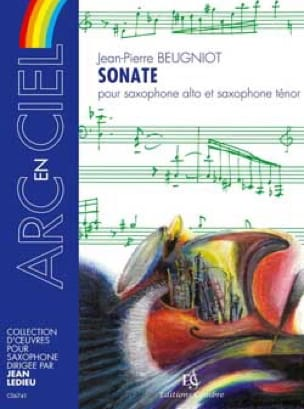 Sonate - Jean-Pierre Beugniot - Partition - laflutedepan.com