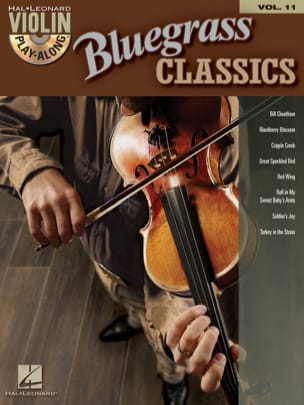 Violin play-along volume 11 - Bluegrass Classics laflutedepan