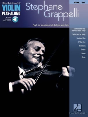 Stéphane Grappelli - Violin play-along volume 15 Stephane Grappelli - Partition - di-arezzo.fr