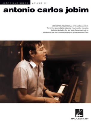 Antonio Carlos Jobim - Jazz Piano Solos Volume 17 - Antonio Carlos Jobim - Sheet Music - di-arezzo.co.uk