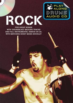 - Play-Along Drums Audio CD - Rock - Partitura - di-arezzo.es