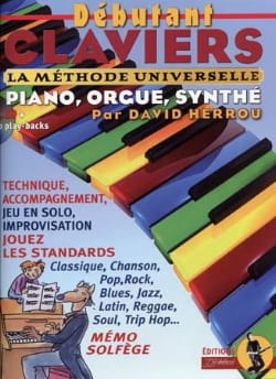 Débutant claviers Herrou David / Rébillard Jean-Jacques laflutedepan