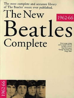 BEATLES - The New Beatles Complete - 1962-66 - Sheet Music - di-arezzo.com