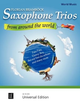Florian Bramböck - Saxophone Trios from Around the World - Partition - di-arezzo.fr