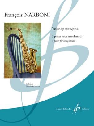 Yoknapatawpha François Narboni Partition Saxophone - laflutedepan