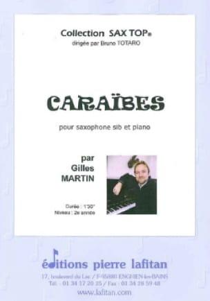 Gilles Martin - Caraïbes - Partition - di-arezzo.fr