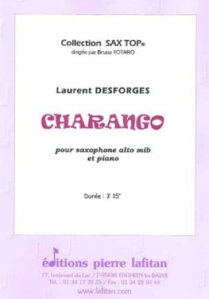 Charango - Laurent Desforges - Partition - laflutedepan.com