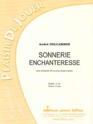 André Delcambre - Sonnerie enchanteresse - Partition - di-arezzo.fr
