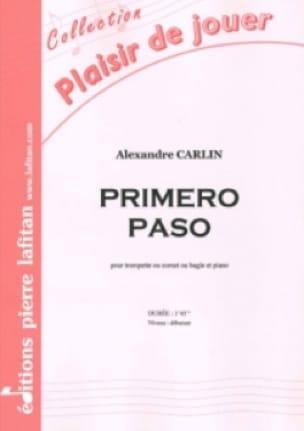 Alexandre Carlin - Primero paso - Partition - di-arezzo.fr