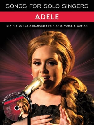 Songs For Solo Singers - Adele - Partition - laflutedepan.com