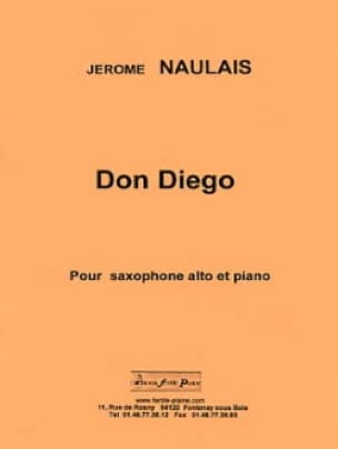 Jérôme Naulais - Don Diego - Partition - di-arezzo.fr