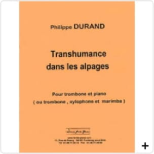 Philippe Durand - Transhumance in the Alps - Sheet Music - di-arezzo.com