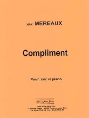 Max Méreaux - Compliment - Partition - di-arezzo.fr