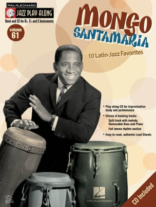 Jazz play-along volume 61 Mongo Santamaria Partition laflutedepan
