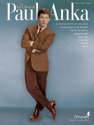 Paul Anka - The Very Best Of Paul Anka - Partition - di-arezzo.fr