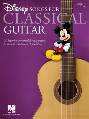 Disney Songs for Classical Guitar DISNEY Partition laflutedepan