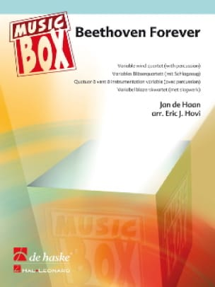 Beethoven Forever - Music Box Jan De Haan Partition laflutedepan
