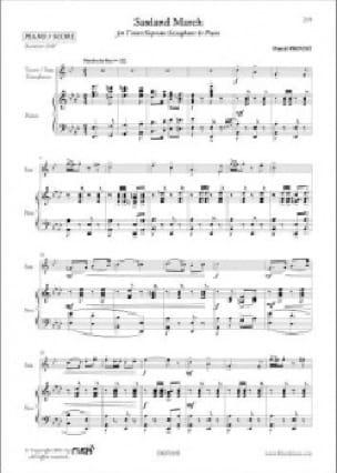 Saxland march - Pascal Proust - Partition - laflutedepan.com