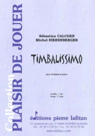 Timbalissimo - Sébastien Calcoen - Partition - laflutedepan.com