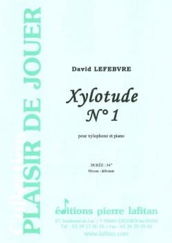 Xylotude N° 1 - David Lefebvre - Partition - laflutedepan.com