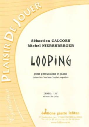 Looping Sébastien Calcoen Partition Multi Percussions - laflutedepan