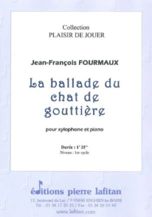 Jean-Yves Fourmeau - Gouttière Cat Ballade - Sheet Music - di-arezzo.com