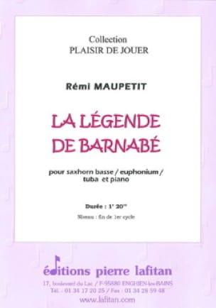 La Légende de Barnabé - Rémi Maupetit - Partition - laflutedepan.com