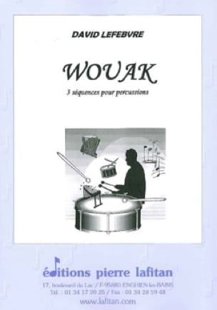 David Lefebvre - Wouak - Partition - di-arezzo.fr