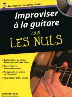 Improviser à La Guitare Pour les Nuls Antoine Polin laflutedepan