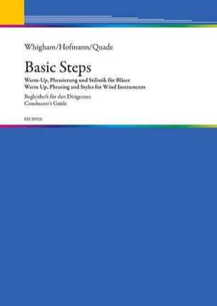 Whigham Jiggs / Hofmann Bernhard / Quade Renold - Basic Steps - Warm Up, Phrasing and Styles for Wind Instruments - Sheet Music - di-arezzo.co.uk
