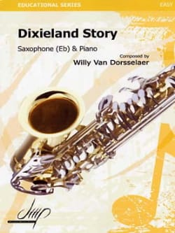 Dixieland story Dorsselaer Willy Van Partition laflutedepan