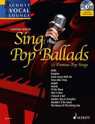 - Sing Pop Ballads - 12 Famous Pop Songs - Partition - di-arezzo.fr