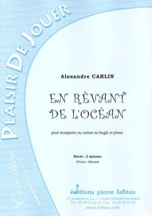 Alexandre Carlin - En rêvant de l'ocean - Partition - di-arezzo.fr