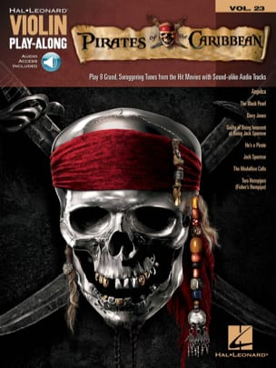 - Violin play-along volume 23 - Pirates of the Caribbean - Sheet Music - di-arezzo.co.uk