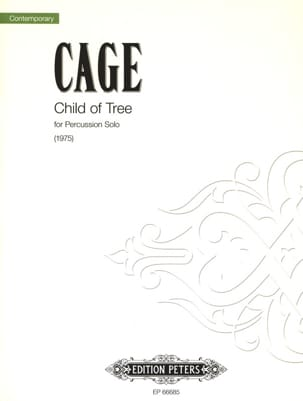 John Cage - Child of Tree - Sheet Music - di-arezzo.co.uk