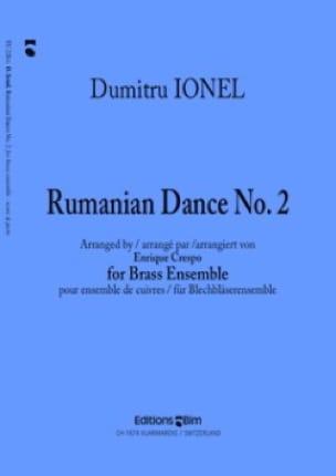 Rumanian Dance N° 2 - Dumitru Ionel - Partition - laflutedepan.com