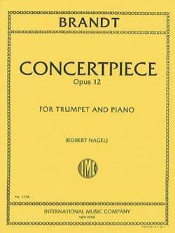 Vassily Brandt - Concertpiece N° 2 Opus 12 - Partition - di-arezzo.fr