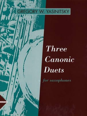 Three Canonic Duets for Saxophones - laflutedepan.com