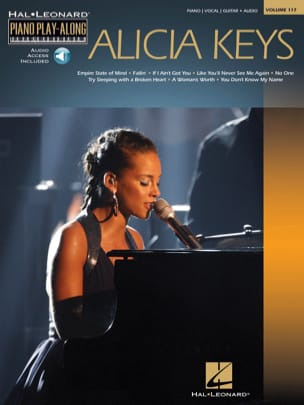 Alicia Keys - Piano Play-Along Volume 117 - Alicia Keys - Partition - di-arezzo.fr