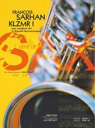 KLZMR I François Sarhan Partition Saxophone - laflutedepan