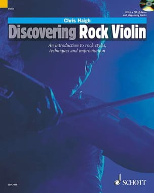Chris Haigh - Discovering Rock Violin - Partition - di-arezzo.fr