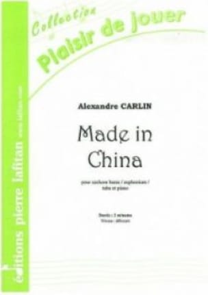 Alexandre Carlin - Made in China - Sheet Music - di-arezzo.com