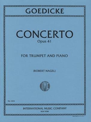 Alexander Goedicke - Concerto Opus 41 - Sheet Music - di-arezzo.com