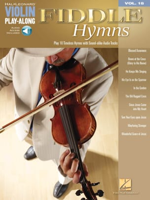 Violin play-along volume 18 - Fiddle Hymns - Partition - di-arezzo.fr