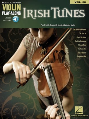 Violin play-along volume 20 - Irish Tunes Partition laflutedepan