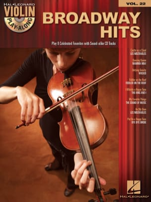 - Violin play-along volume 22 - Broadway Hits - Sheet Music - di-arezzo.co.uk